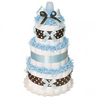 "Торт из памперсов ""Blue Chocolate"""