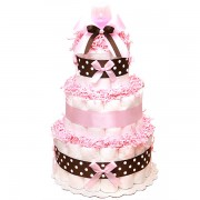 "Торт из памперсов ""Pink Chocolate"""
