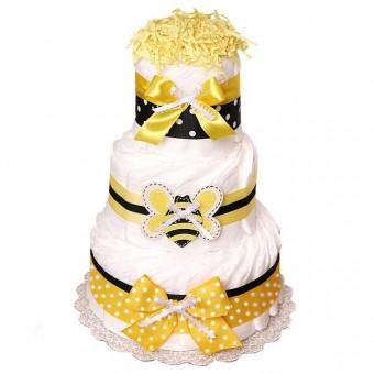 "Торт из памперсов ""Bee"""