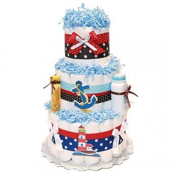 "Торт из памперсов ""Lighthouse"""