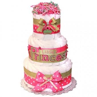 "Торт из памперсов ""Little Princess"""