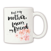 Чашка Mom is friend