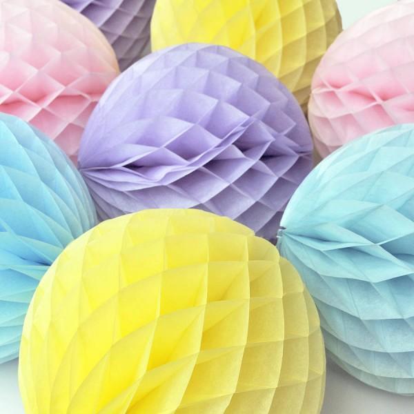 Бумажные шары соты своими руками