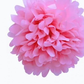 "Бумажный помпон ""Baby Pink"""