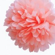 "Бумажный помпон ""Coral"""