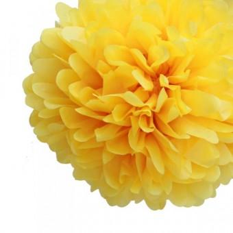 "Бумажный помпон ""Sunflower"""