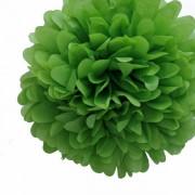 "Бумажный помпон ""Leaf Green"""